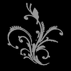 grey-floral-design
